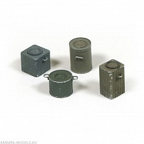 35-0029-A  German Food Canisters