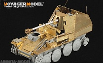PE35191 Набор фототравления для 1/35 WWII German Marder III Ausf.M Initial Production Armour Plate (For DRAGON 6464)