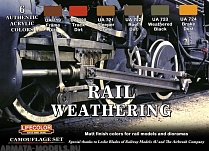 CS21 Набор WEATHERING OF TRAINS SET