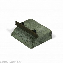 87-0004  Railroad Buffer Block 1:87