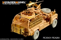 "PE35431 Набор фототравления для Modern British Defender XD ""Wolf"" W.M.I.K(For hobby boss 82446)"