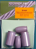 E-040 Plastic chemical storage drums Set#2
