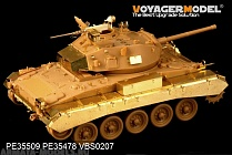 PE35509 Набор фототравления для WWII British Army M24 Chaffee Light Tank basic(For Bronco 35068)