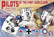 DDS72003 Фигуры Pilots of the First World War 1/72
