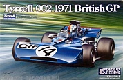 20008EBB Tyrrell 002 British GP 1971