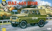 MW3507 UAZ-469 B SFOR . New mouldings + rubber wheels