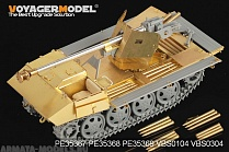 PE35368 Набор фототравления для 1/35 WWII German 75mm PaK 40/4 auf Steyr RSO Driver's Cabin (For DRAGON 6640)