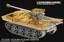 PE35369 Набор фототравления для 1/35 WWII German 75mm PaK 40/4 auf Steyr RSO Fighting Platform (AMMO INCLUD?(For DRAGON 6640)