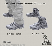 LRE35331 Набор коссовок Salomon Quest 4D 2 GTX boots set