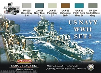 CS25 Набор CAMOUFLAGE SET US NAVY SET 2