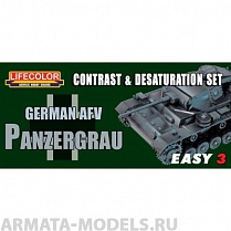 MS02 Набор PANZERGRAU MODULATION SET